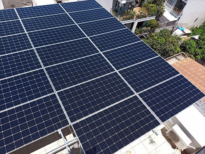 [Năng lượng mặt trời Vũng Tàu] Lắp đặt hệ thống hòa lưới 12kW kinh doanh khách sạn 16