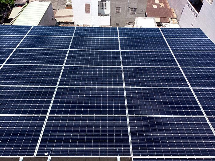 [Năng lượng mặt trời Vũng Tàu] Lắp đặt hệ thống hòa lưới 12kW kinh doanh khách sạn 20