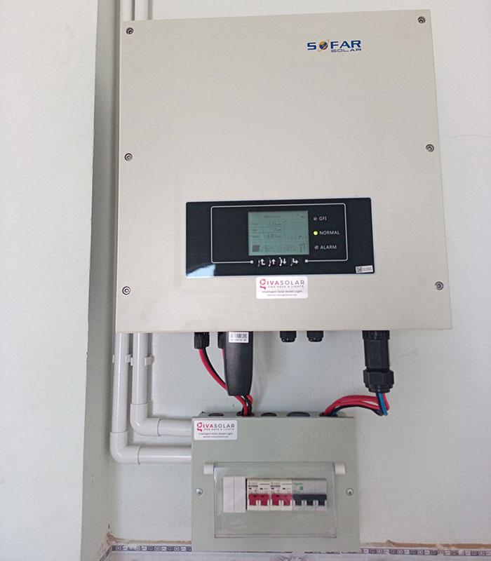 [Năng lượng mặt trời Vũng Tàu] Lắp đặt hệ thống hòa lưới 12kW kinh doanh khách sạn 21
