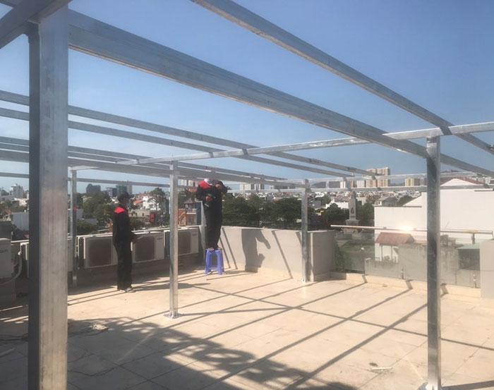 [Năng lượng mặt trời Vũng Tàu] Lắp đặt hệ thống hòa lưới 12kW kinh doanh khách sạn 5