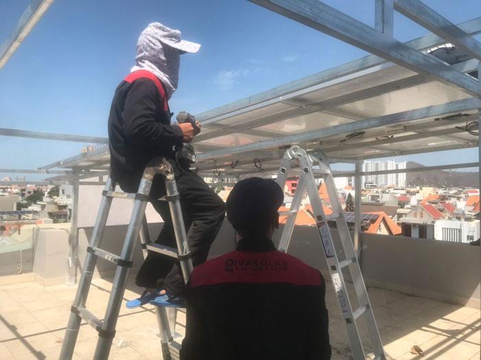 [Năng lượng mặt trời Vũng Tàu] Lắp đặt hệ thống hòa lưới 12kW kinh doanh khách sạn 6