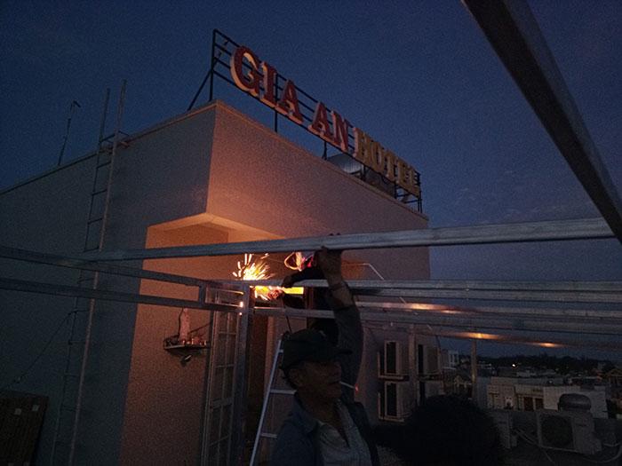 [Năng lượng mặt trời Vũng Tàu] Lắp đặt hệ thống hòa lưới 12kW kinh doanh khách sạn 7