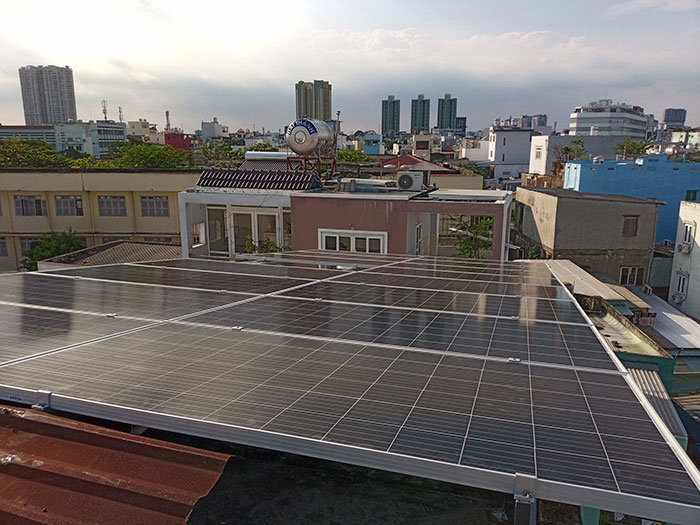 Givasolar.com.vn hoàn tất lắp đặt điện mặt trời hòa lưới 10kW tại Quận 8 11