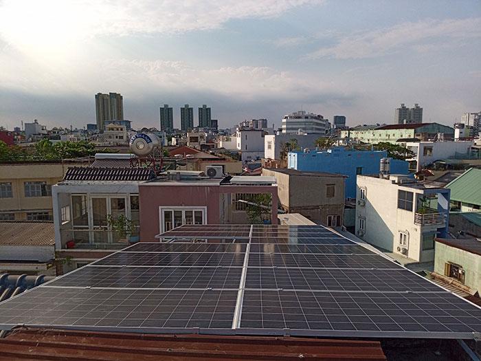 Givasolar.com.vn hoàn tất lắp đặt điện mặt trời hòa lưới 10kW tại Quận 8 12