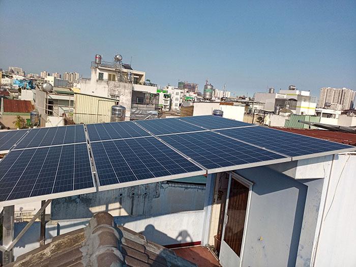Givasolar.com.vn hoàn tất lắp đặt điện mặt trời hòa lưới 10kW tại Quận 8 9