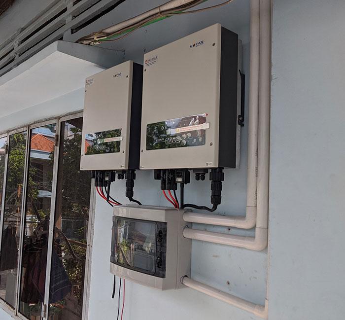 Lắp đặt hệ thống năng lượng mặt trời công suất 12kW cho anh Trí tại Tân Phú 10