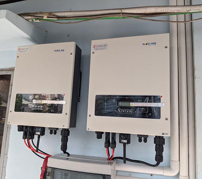 Lắp đặt hệ thống năng lượng mặt trời công suất 12kW cho anh Trí tại Tân Phú 9