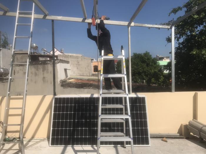 Givasolar.com.vn lắp hệ thống năng lượng mặt trời 4.5kW tại Bà Rịa - Vũng Tàu 1