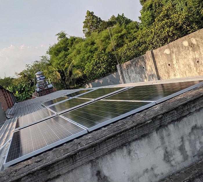 Lắp đặt điện mặt trời áp mái 3kW cho gia đình tại Củ Chi 1