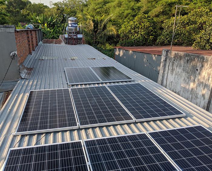 Lắp đặt điện mặt trời áp mái 3kW cho gia đình tại Củ Chi 3