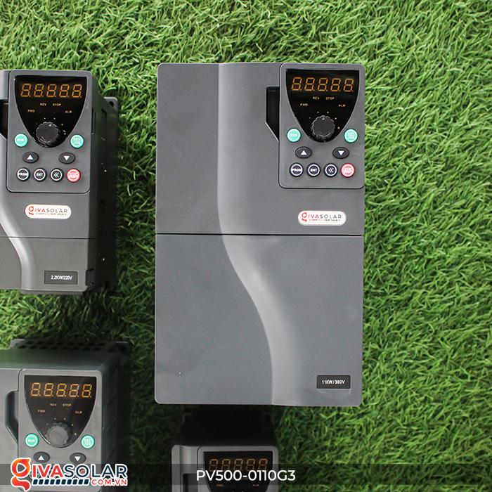 Biến tần dùng cho hệ thống bơm nước năng lượng mặt trời 11kW PV500-0110G3 2