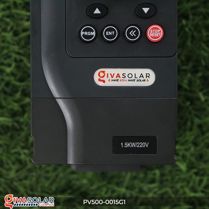 Biến tần 1.5kW cho máy bơm nước năng lượng mặt trời PV500-0015G1 4