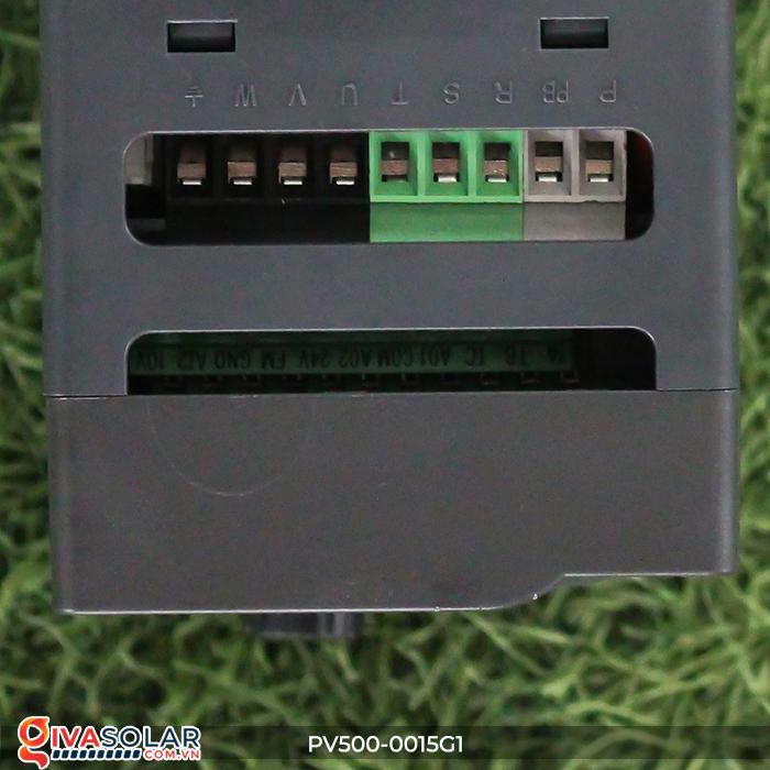 Biến tần 1.5kW cho máy bơm nước năng lượng mặt trời PV500-0015G1 6