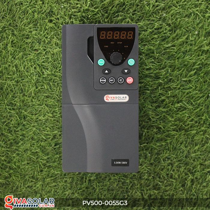 Biến tần máy bơm điện mặt trời công suất 5.5kW PV500-0055G3 1