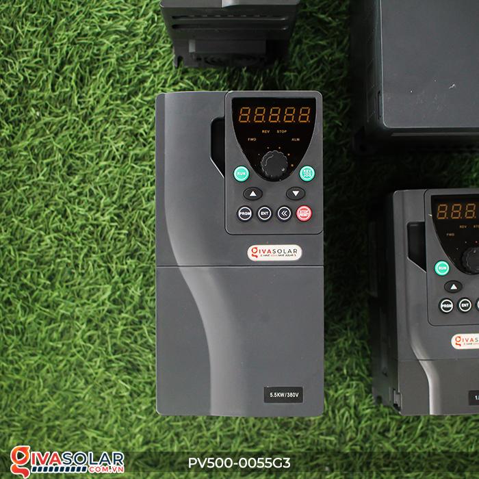Biến tần máy bơm điện mặt trời công suất 5.5kW PV500-0055G3 2