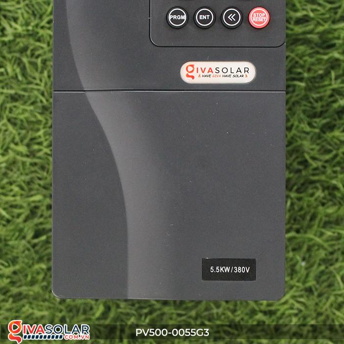 Biến tần máy bơm điện mặt trời công suất 5.5kW PV500-0055G3 4
