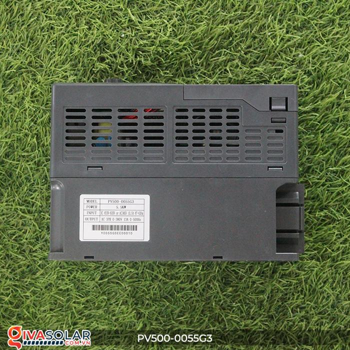 Biến tần máy bơm điện mặt trời công suất 5.5kW PV500-0055G3 8