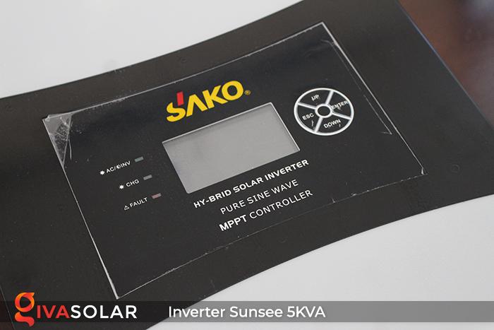 Inverter năng lượng mặt trời đa năng SUNSEE 5KVA 6