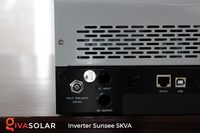 Inverter năng lượng mặt trời đa năng SUNSEE 5KVA 9