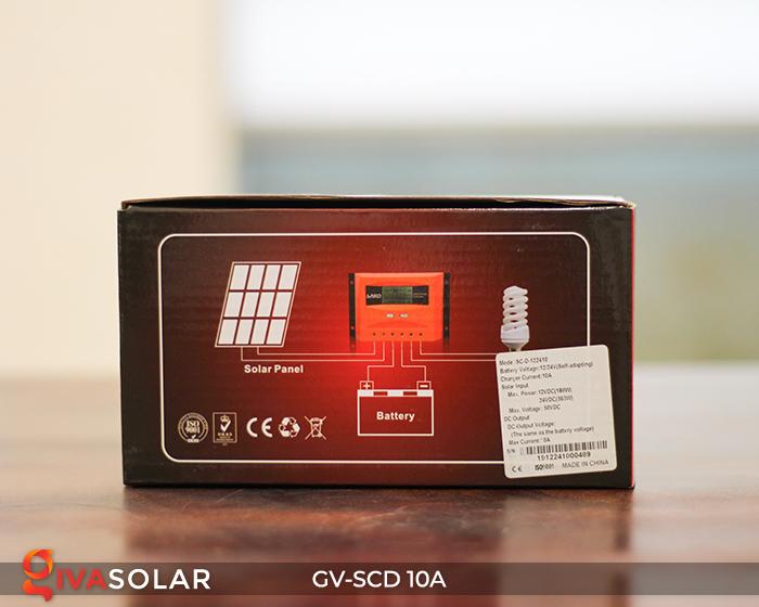 Bộ điều khiển sạc pin năng lượng mặt trời SC-D 12 24V 10A 11