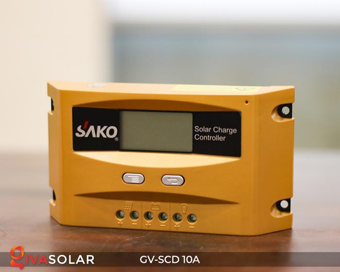 Bộ điều khiển sạc pin năng lượng mặt trời SC-D 12 24V 10A 12