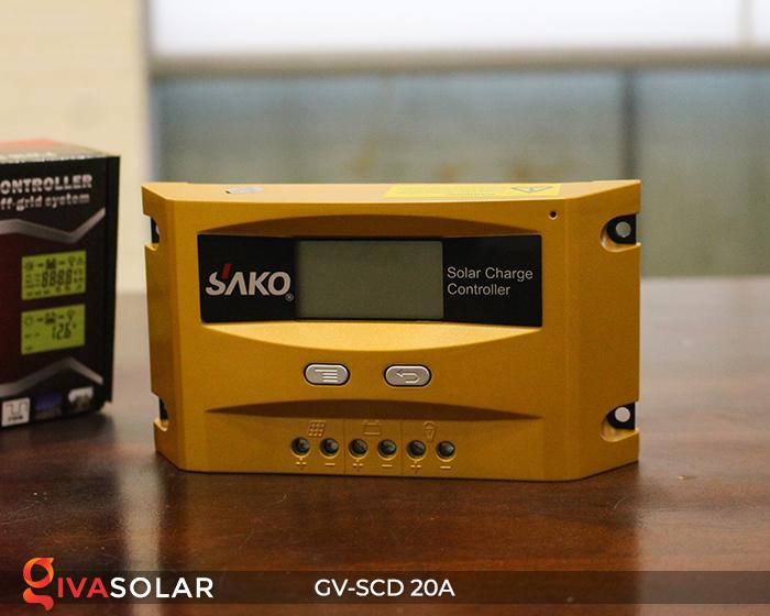 Điều khiển sạc điện mặt trời SC-D 12 24V 20A 1