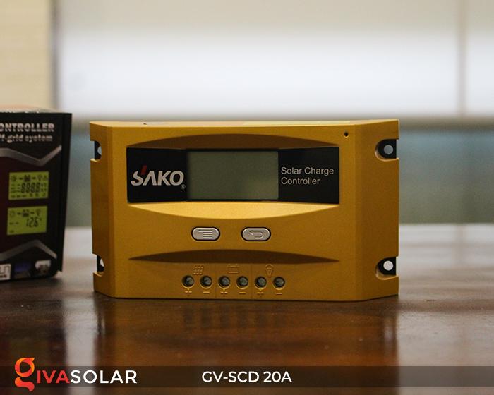 Điều khiển sạc điện mặt trời SC-D 12 24V 20A 2