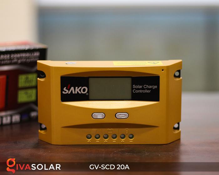 Điều khiển sạc điện mặt trời SC-D 12 24V 20A 3