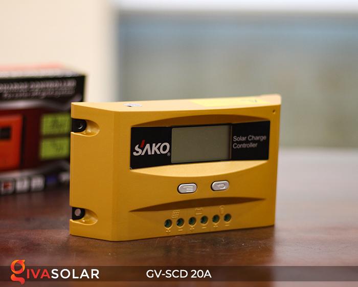 Điều khiển sạc điện mặt trời SC-D 12 24V 20A 5
