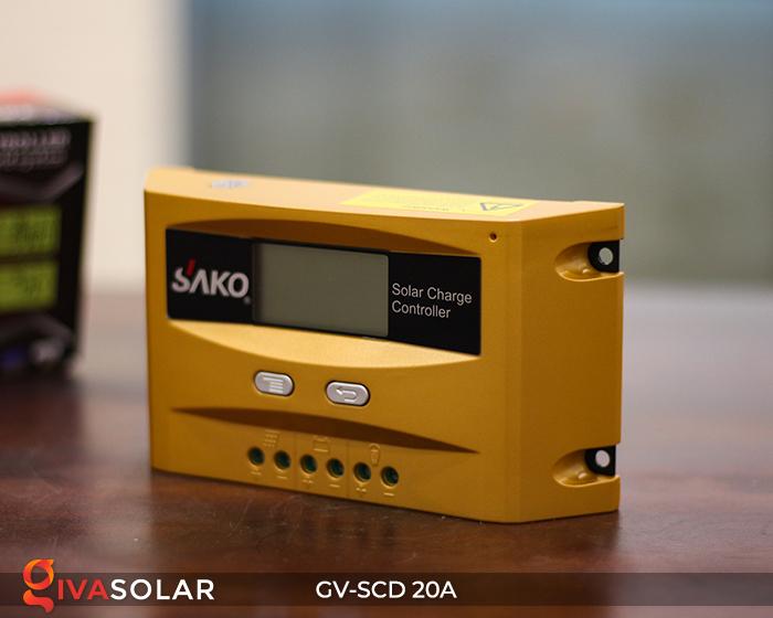 Điều khiển sạc điện mặt trời SC-D 12 24V 20A 6