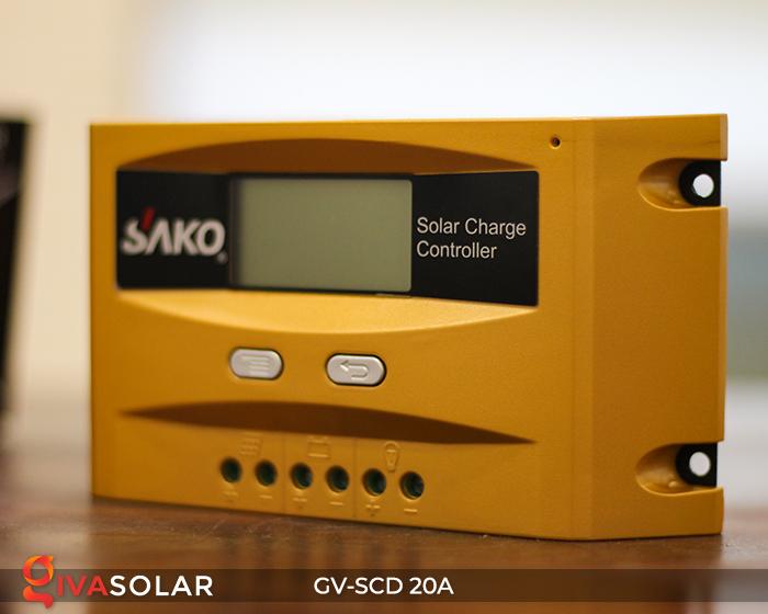 Điều khiển sạc điện mặt trời SC-D 12 24V 20A 7