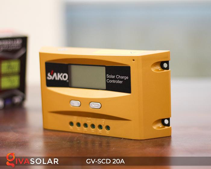 Điều khiển sạc điện mặt trời SC-D 12 24V 20A 8