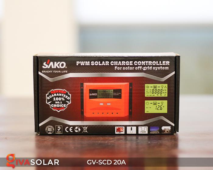 Điều khiển sạc điện mặt trời SC-D 12 24V 20A 9