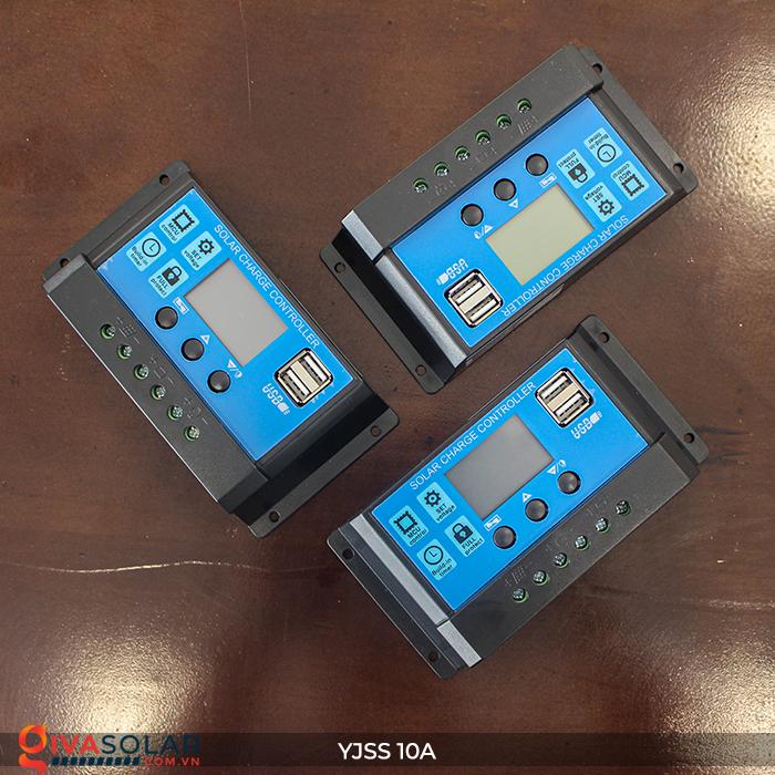 Bộ điều khiển sạc pin năng lượng mặt trời YJSS10 PWM-10A 1