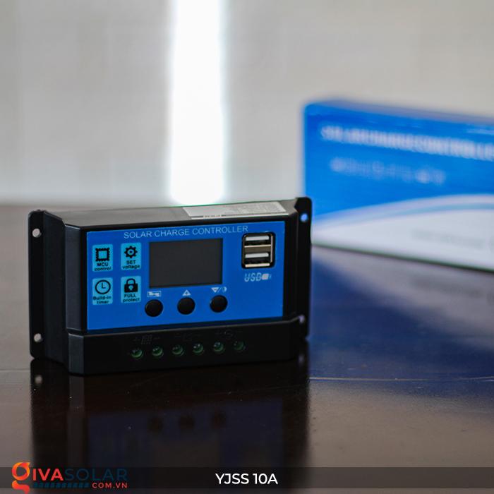 Bộ điều khiển sạc pin năng lượng mặt trời YJSS10 PWM-10A 2