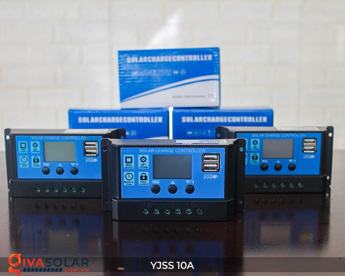Bộ điều khiển sạc pin năng lượng mặt trời YJSS10 PWM-10A 9