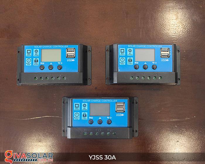 Bộ điều khiển sạc năng lượng mặt trời YJSS30 PWM-30A 1