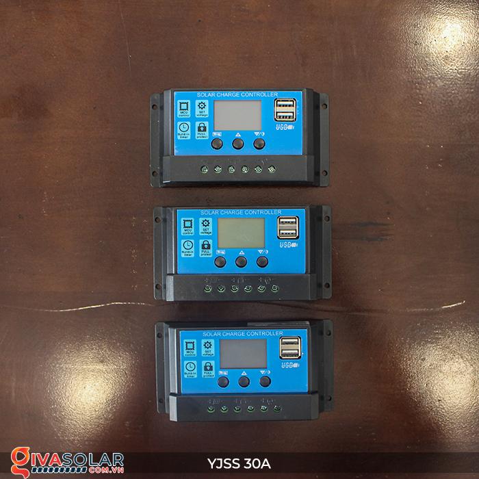 Bộ điều khiển sạc năng lượng mặt trời YJSS30 PWM-30A 2