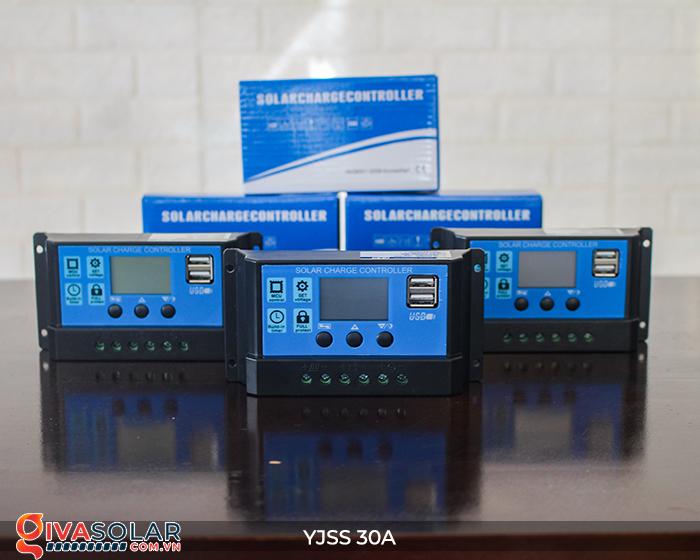 Bộ điều khiển sạc năng lượng mặt trời YJSS30 PWM-30A 3