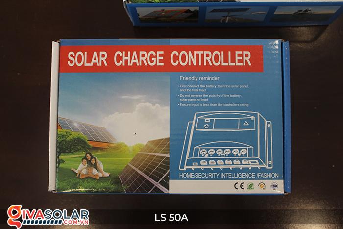 Bộ điều khiển sạc pin mặt trời LS50 PMW 50A 1
