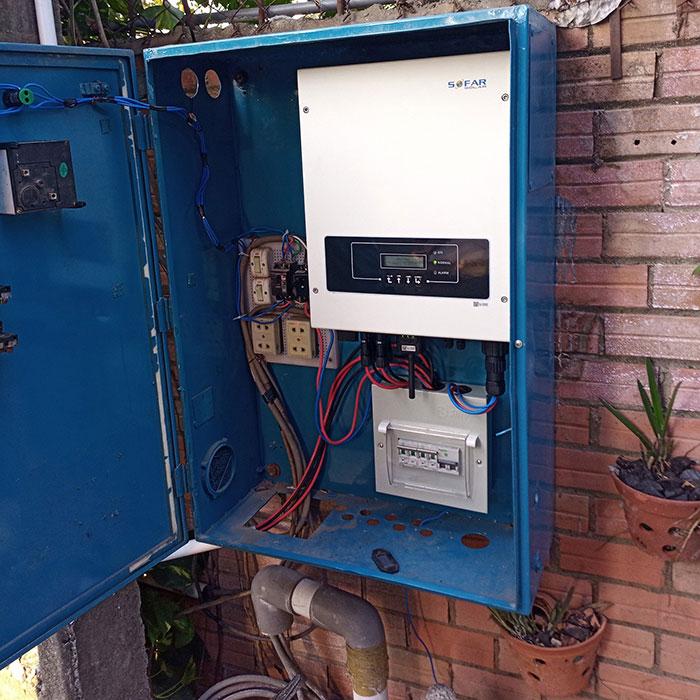 [Điện mặt trời Bình Dương] Hoàn thành lắp đặt hệ thống hòa lưới 5kW 5