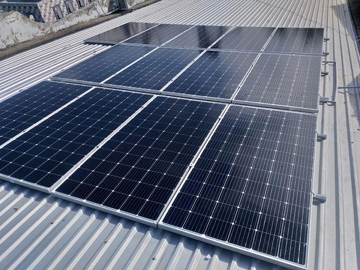 [Điện mặt trời Cần Thơ] Givasolar.com.vn hoàn thành hệ thống áp mái 5 kWp 2