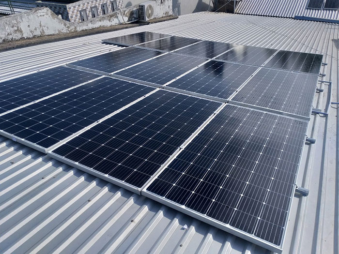 [Điện mặt trời Cần Thơ] Givasolar.com.vn hoàn thành hệ thống áp mái 5 kWp 3