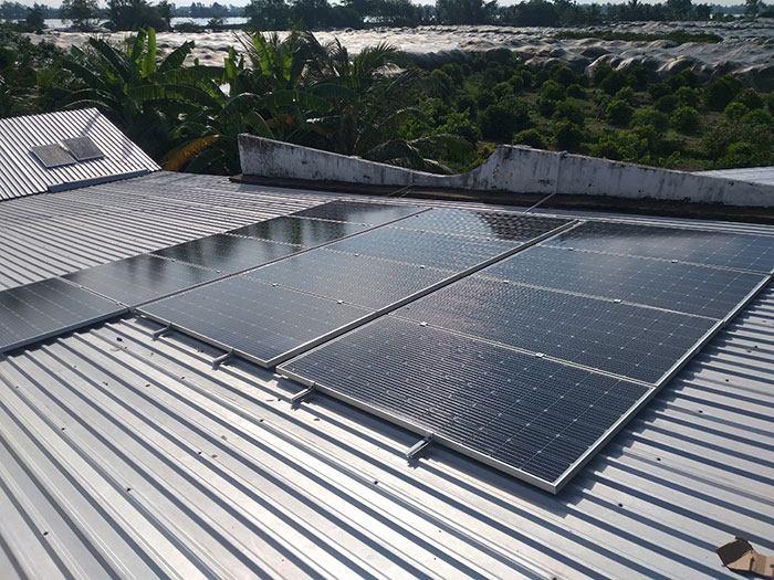 [Điện mặt trời Cần Thơ] Givasolar.com.vn hoàn thành hệ thống áp mái 5 kWp 4