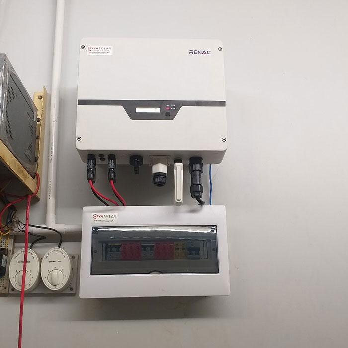 [Điện mặt trời Cần Thơ] Givasolar.com.vn hoàn thành hệ thống áp mái 5 kWp 5