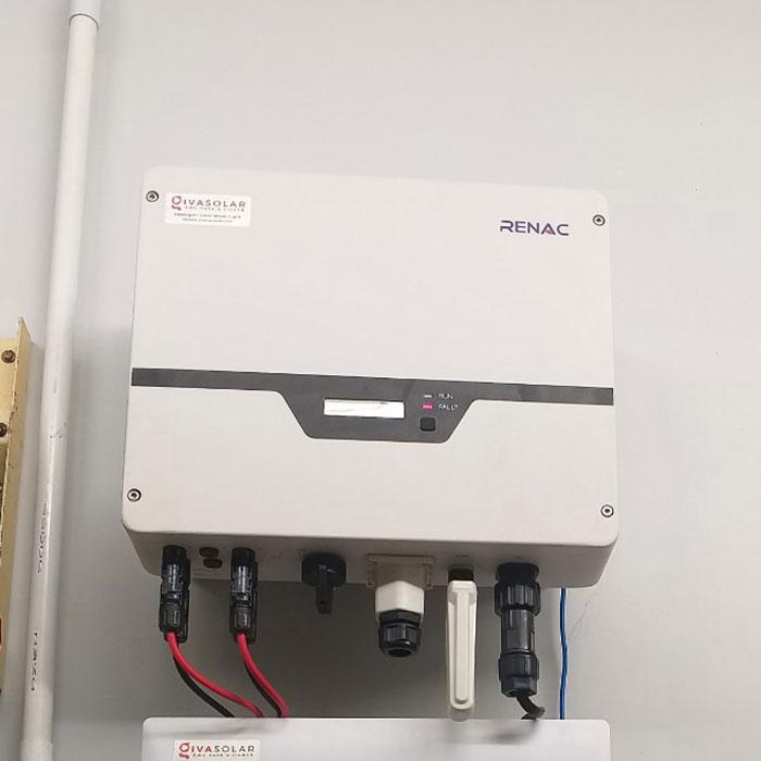 [Điện mặt trời Cần Thơ] Givasolar.com.vn hoàn thành hệ thống áp mái 5 kWp 6