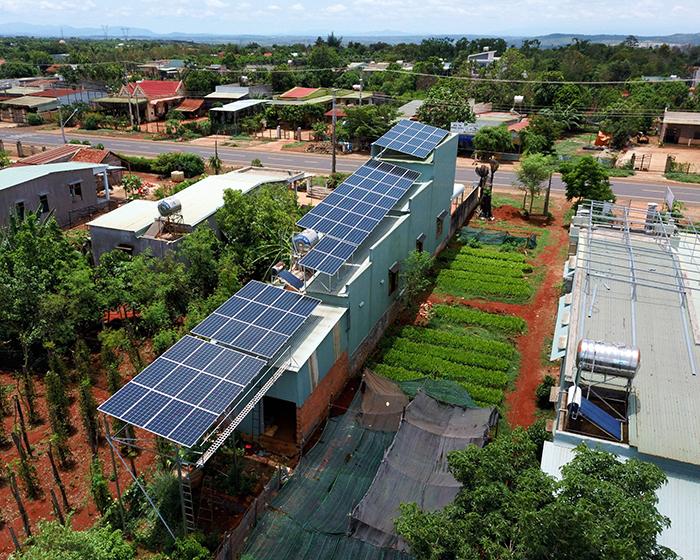 [Điện mặt trời Gia Lai] Hoàn thành lắp đặt hệ thống hóa lưới 28 kWp 10