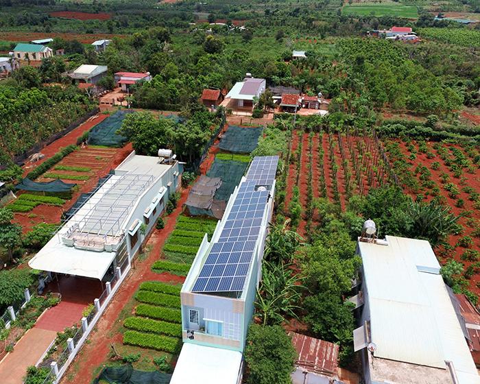 [Điện mặt trời Gia Lai] Hoàn thành lắp đặt hệ thống hóa lưới 28 kWp 11