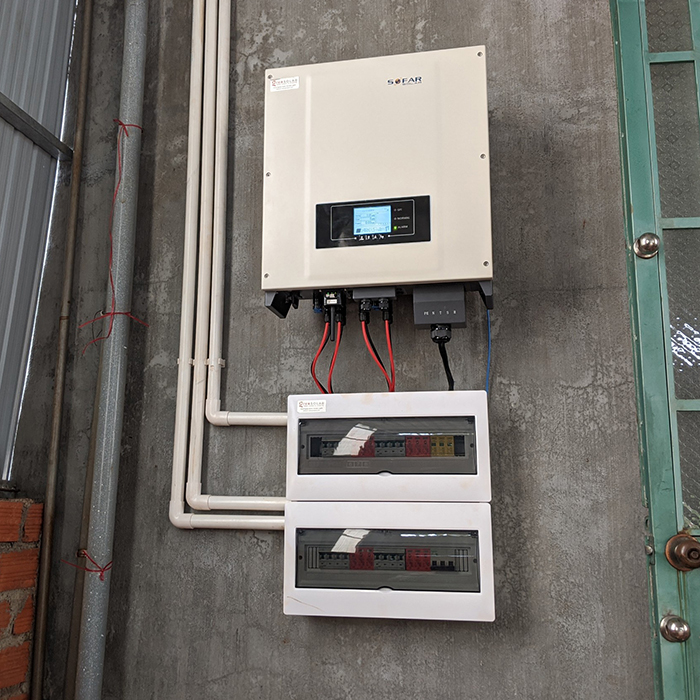 [Điện mặt trời Gia Lai] Hoàn thành lắp đặt hệ thống hóa lưới 28 kWp 15