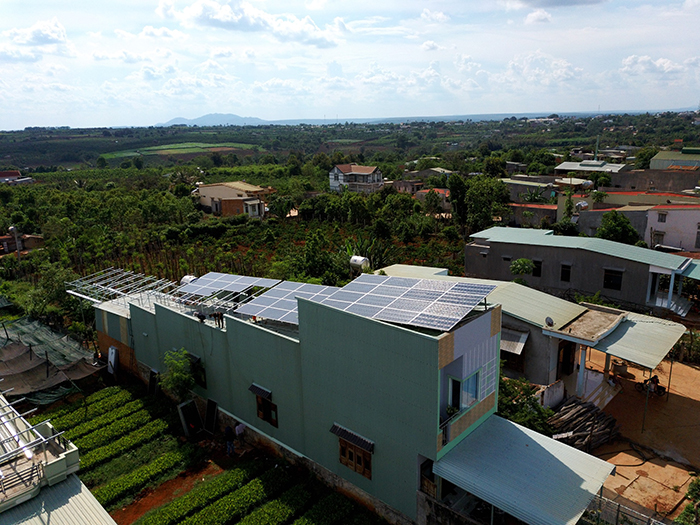 [Điện mặt trời Gia Lai] Hoàn thành lắp đặt hệ thống hóa lưới 28 kWp 5